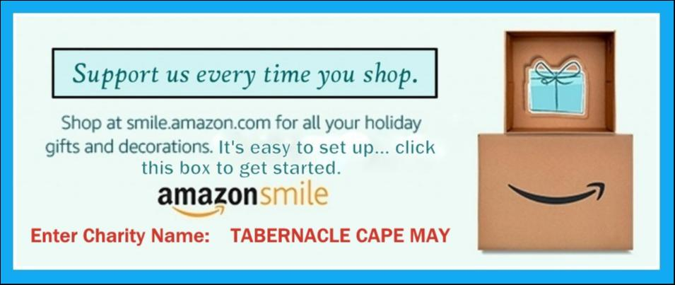 GIVE TO AMAZON SMILE