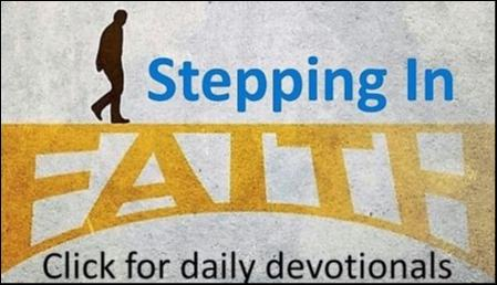 Stepping In Faith