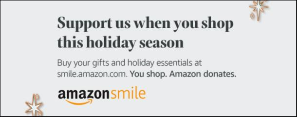 Amazon Smile Donates to TUMC